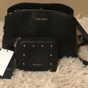 Nine West crossbody and wallet set